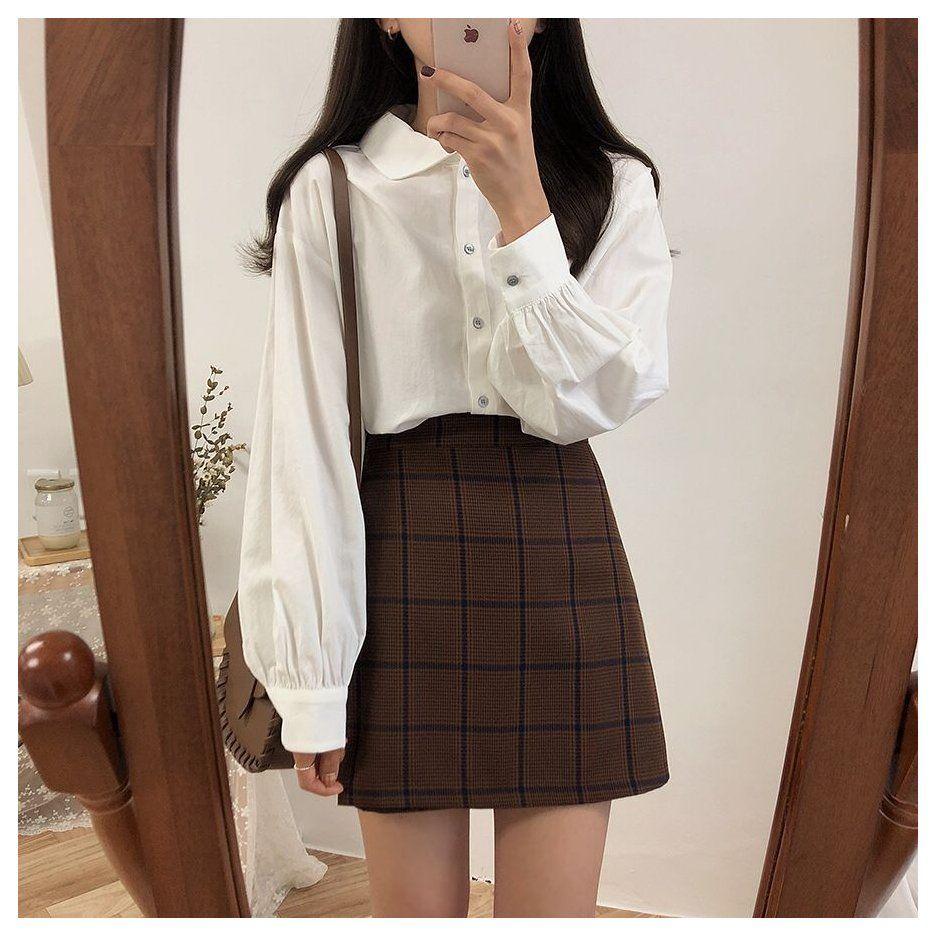simple korean formal dress