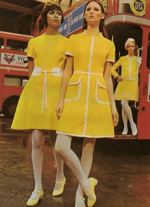 Fashion History- The Look of the 1960's
