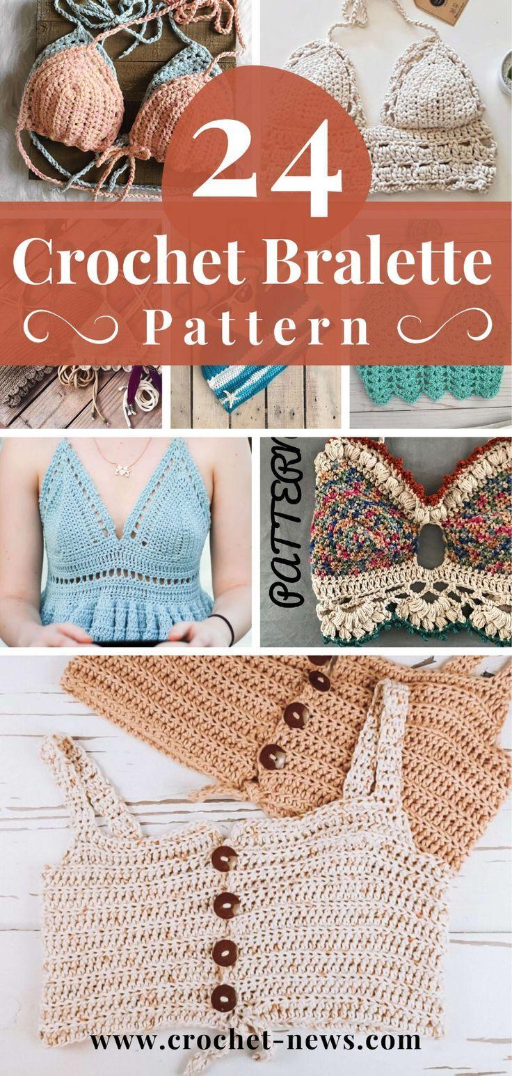 24 Crochet Bralette Patterns - Crochet News