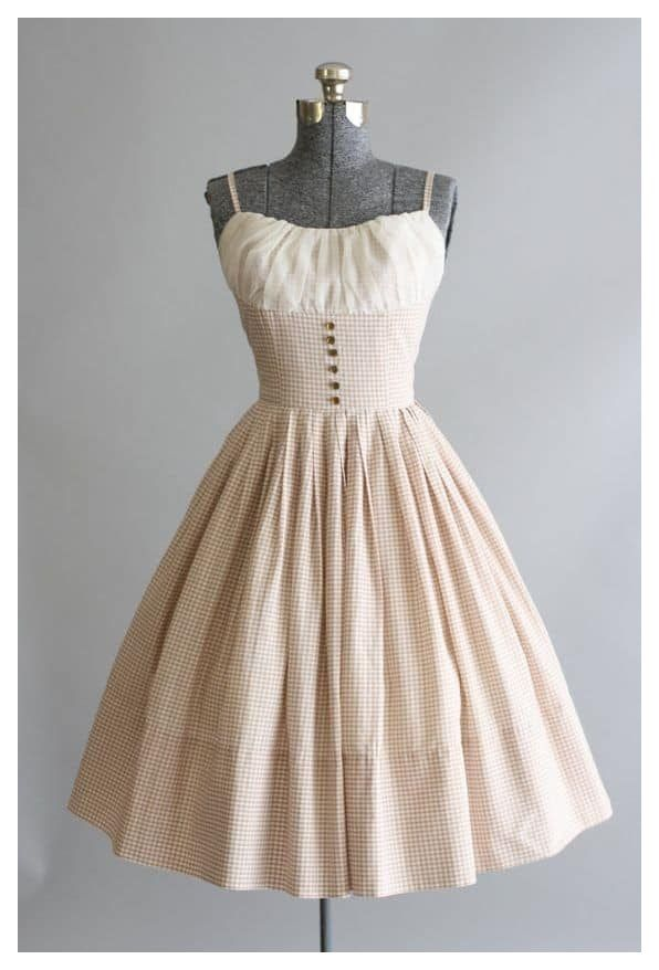 vintage summer outfits 1950s retro
