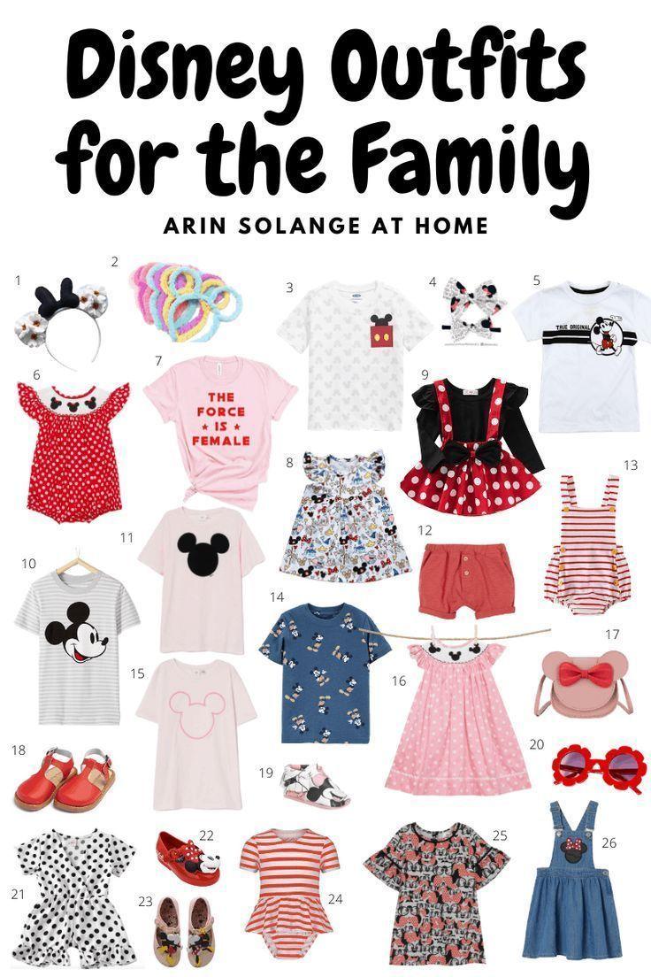 Disney World Outfit Ideas - arinsolangeathome