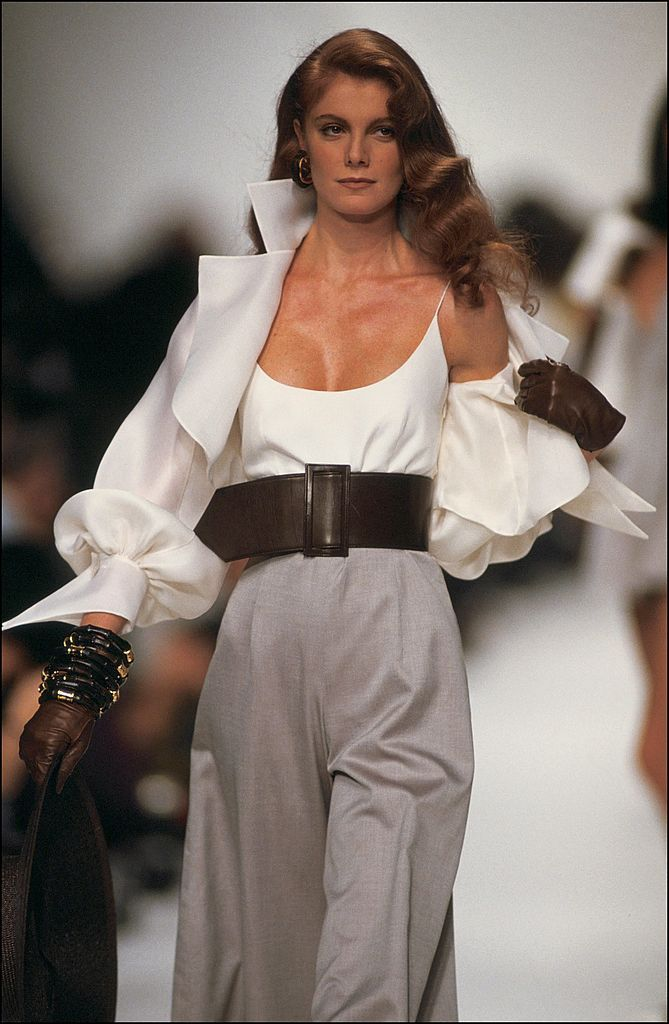Fashion show ready -to -wear Spring -summer 1991 in Paris, France in...