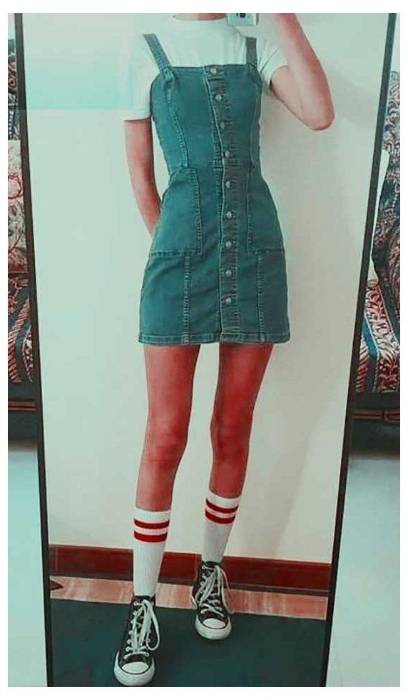 cute overalls aesthetic