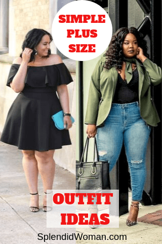 15+ Flattering Plus Size Outfit Ideas That Are So Easy To Put Together