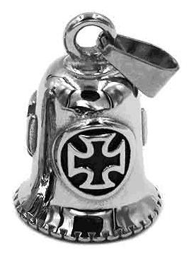 bell-10003-a-silber-biker-glocke-schutzengel-templer-kreuz-edelstahl