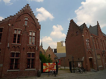 Dagje beelden plaatsen, Aalst, Belgie