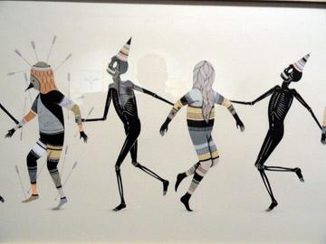 Samuel François en Hell'O Monsters @ Alice Gallery