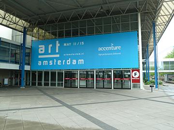 Art Amsterdam, de opbouw
