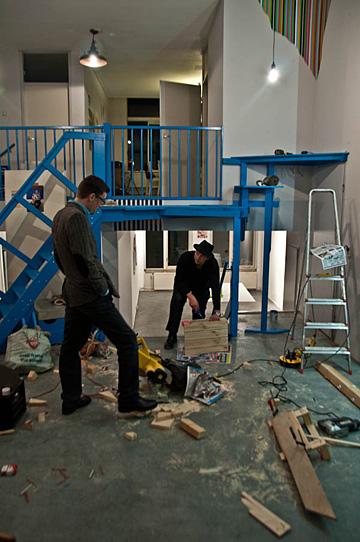 Johan Thom & Hans Wilschut @ De Zwarte Ruyter, de opbouw