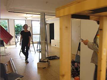 Opbouw EASY en aanverwanten / kunstdocumenta CHARLOIS gaat van start