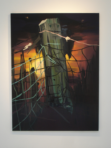 Clare Woods @ Karynlovegrove gallery