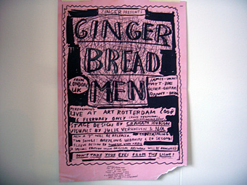 Zinger presents Ginger Bread Men