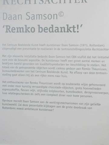 Daan Samson @ CBK Rotterdam
