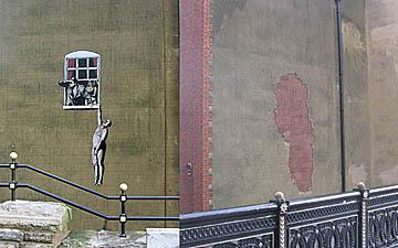 Gestolen Banksy