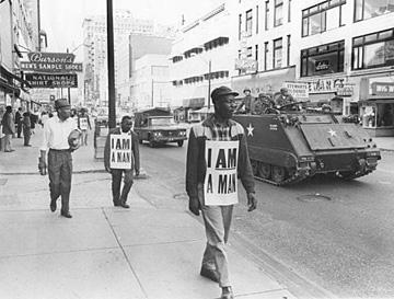 protest-voor-gelijke-rechten-in-memphis-usa-1968