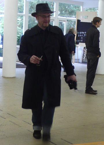 een galerist uit berlijn