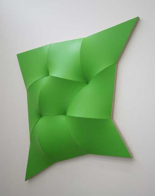Dynamic-Monochrome,-Green,-2012,-acryl-op-linnen,-ca-140x130x20cm_JAN-MAARTEN-VOSKUIL
