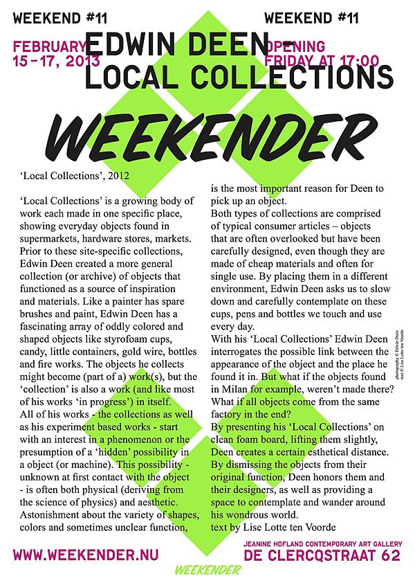Edwin Deen @ Weekender