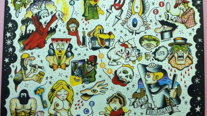Subway Art Tattoo Flash