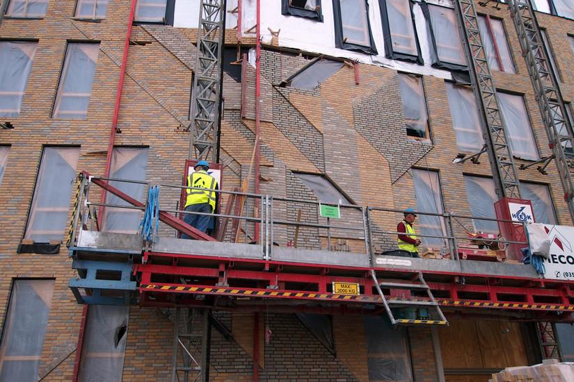 Boris Tellegen in aanbouw (Haarlem)