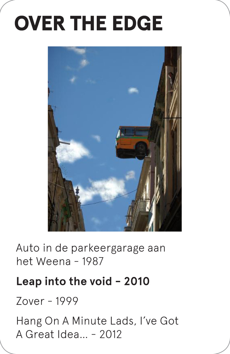OVER THE EDGE - Humberto Diaz - Leap into the void - 2010