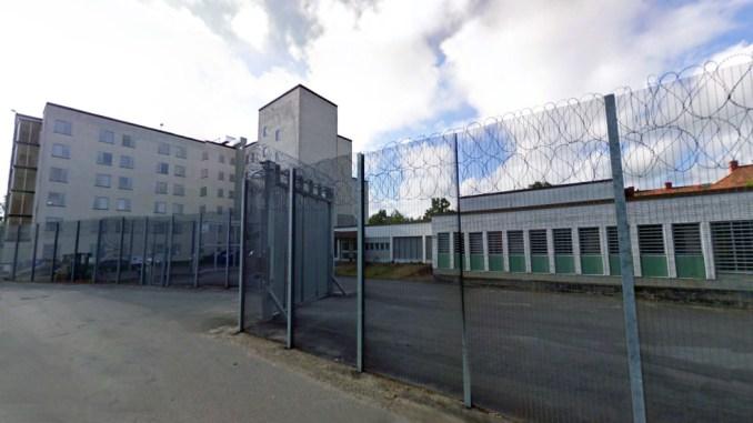 In Zweden in de gevangenis