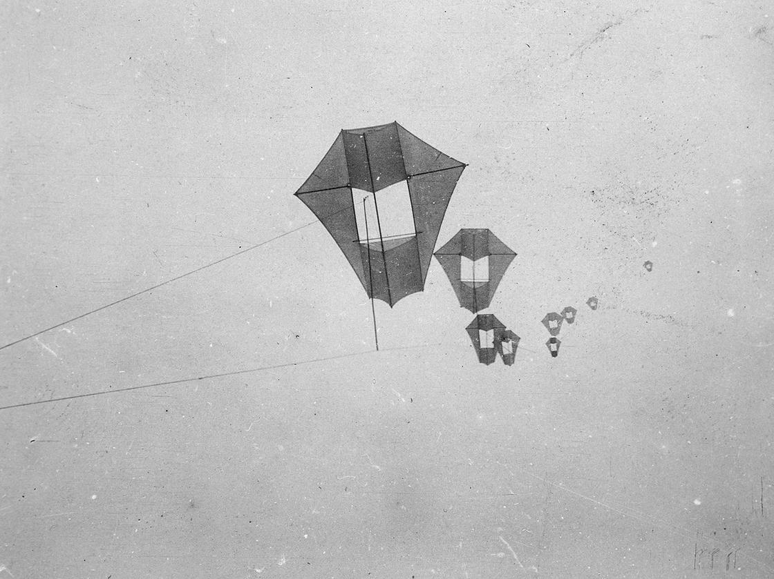 Vlieger camera anno 1900-1910
