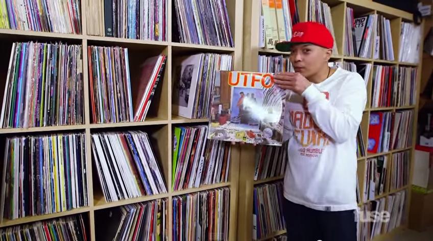 DJ Qbert @ Crate Diggers