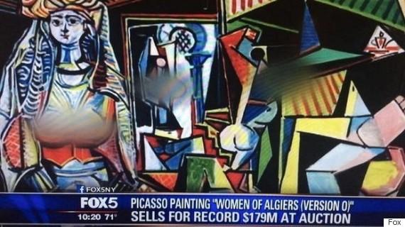 De borsten van Picasso