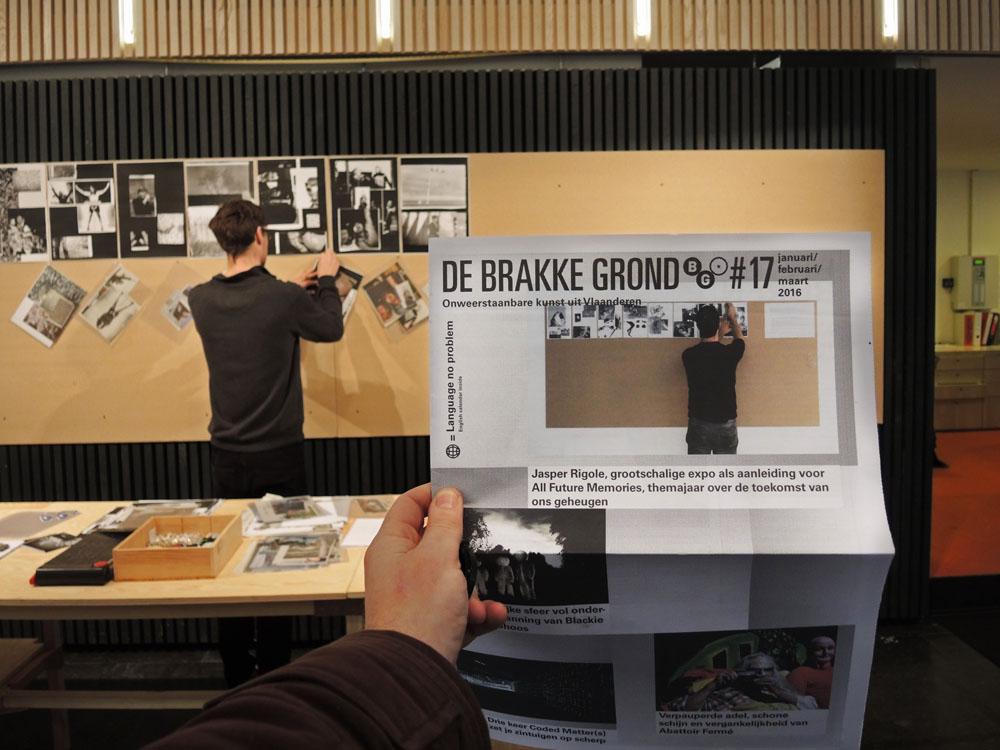 Jasper Rigole @ de Brakke Grond
