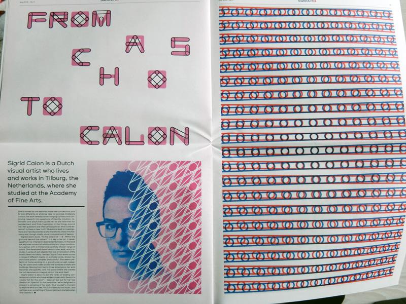 Sigrid Calon maakt Swatch