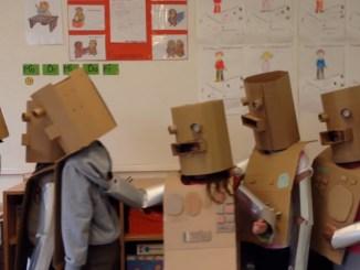 Kraftwerk - Roboter - Lemmchen Grundschule