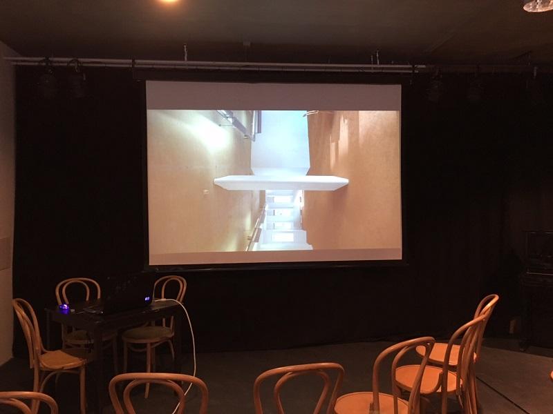 Film over installatie