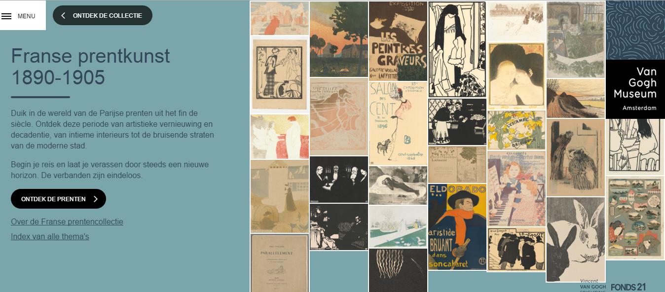Van Goghmuseum ontsluit Parijse prentencollectie online