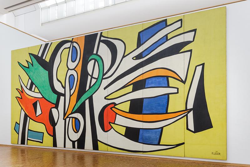 Les Plongeurs, 1943, olieverf op canvas, 88.9 x 106,68cm.