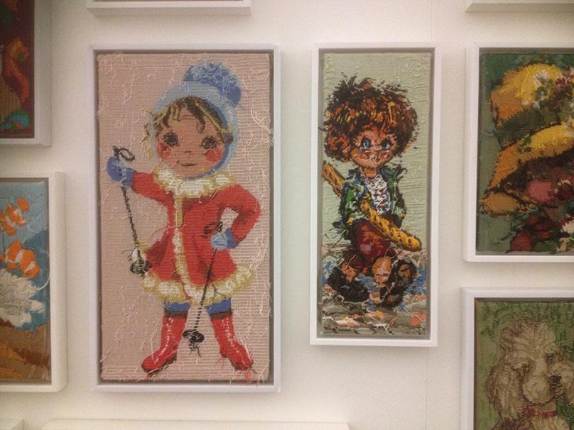 Rob Scholte's 'Embroidery Show'_Ski