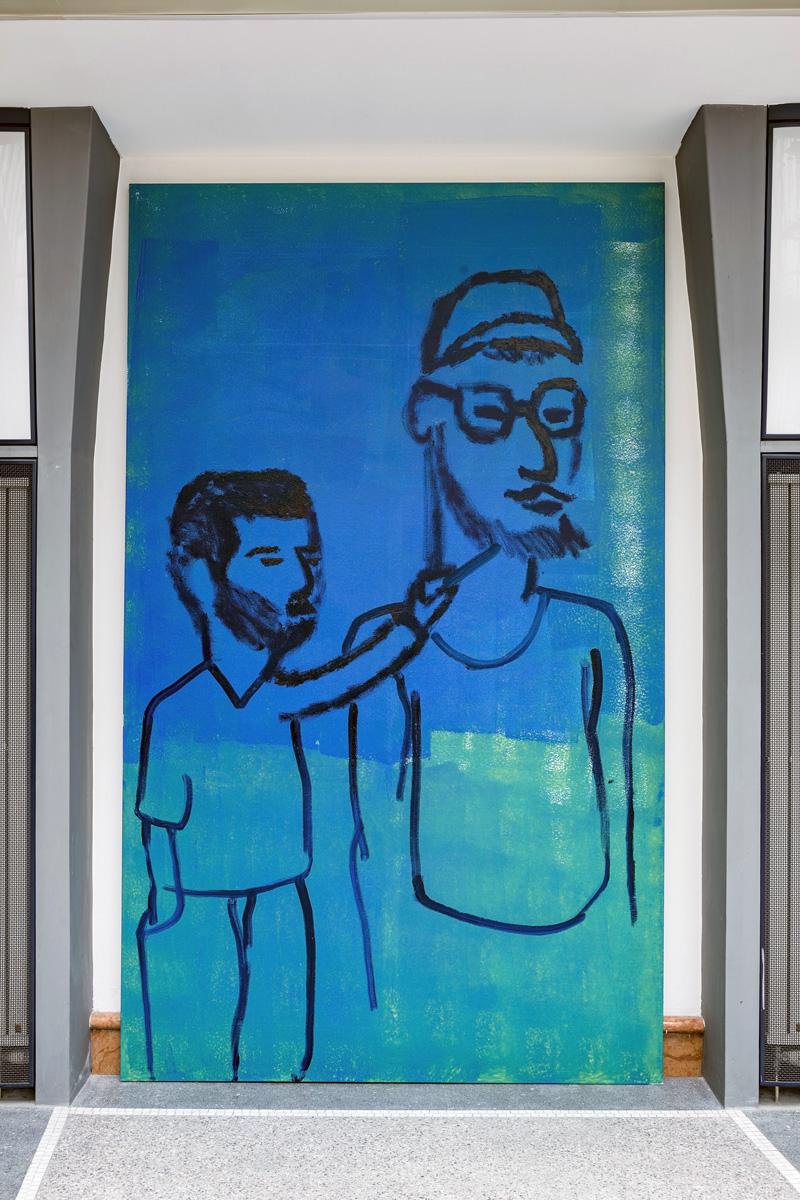 Martin Lukáč en Roel van der Linden @ Galerie Kritiků, Praag
