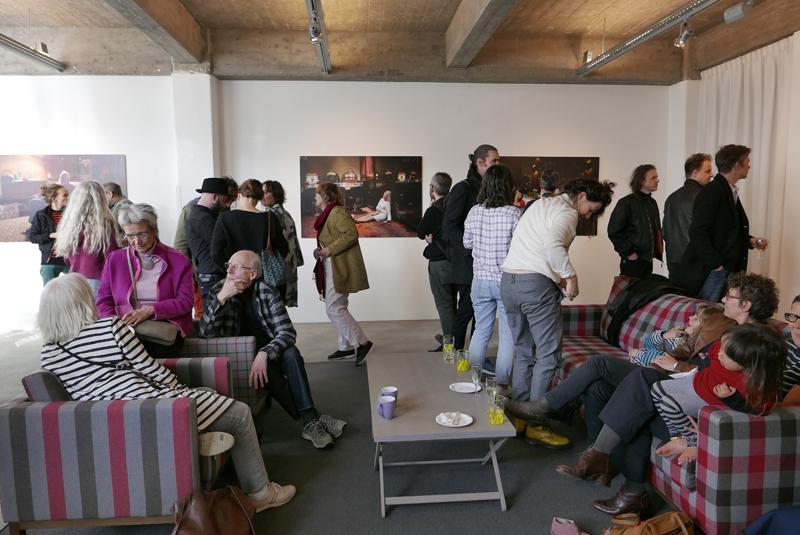 Simone Bennett bij C&H Galerie