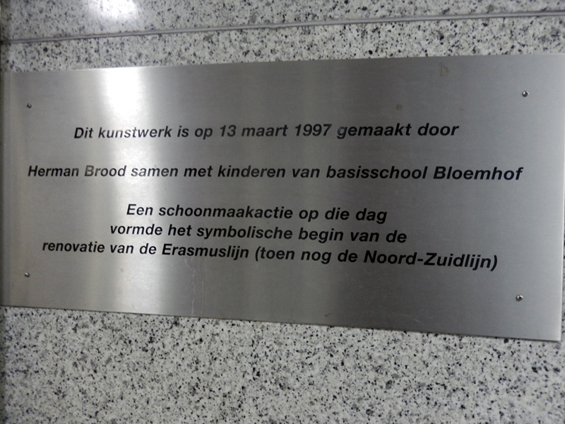 Herman Brood @ Leuvehaven, Rotterdam
