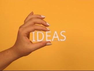 Waar ideeën vandaan komen