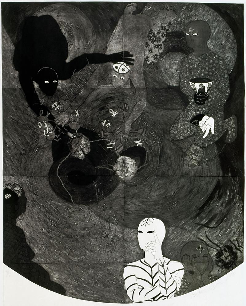 NKAME: Een retrospectief van de Cubaanse (collo)graficus Belkis Ayón @ El Museo Del Barrio