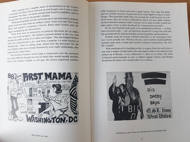 Eyeball Cards: The Art of British CB Radio Culture (een boek over 27 mc kaarten)