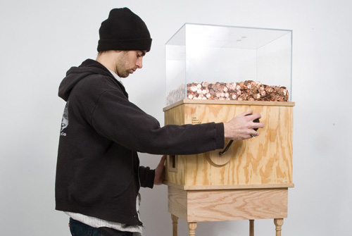 Blake Fall-Conroy, De minimumloon machine