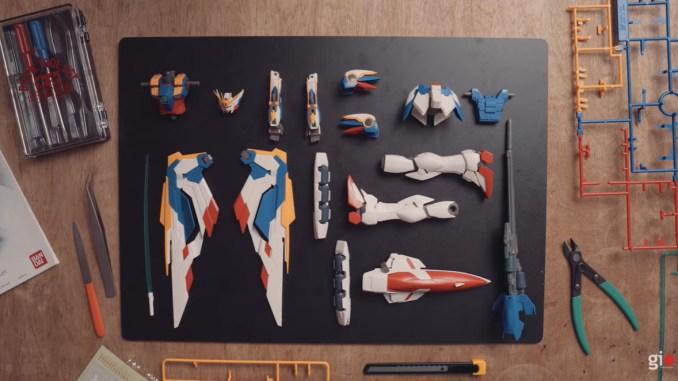 Zelf Gundam bouwen