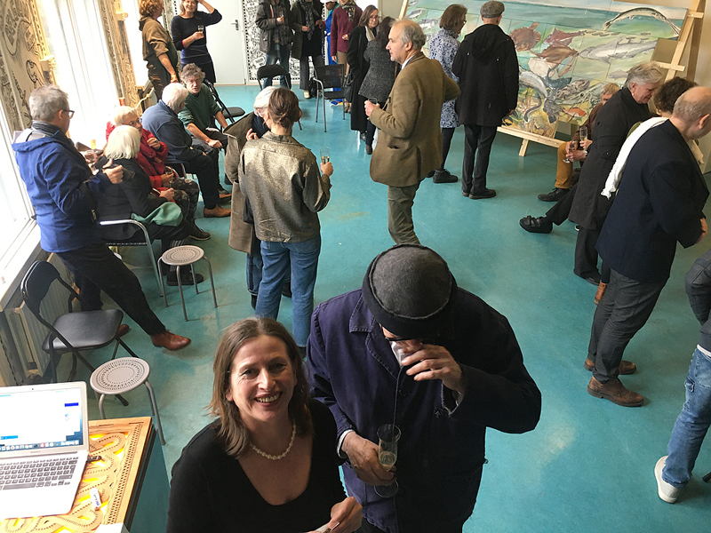 Henk Elenga en Rob Peters @ Blokhuis, Kattendijke