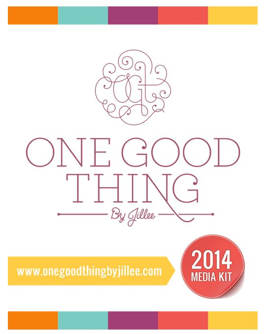 one good thing by jillee media kit