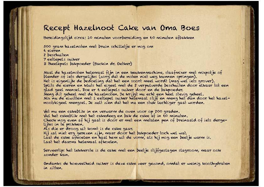 Recept HazelnootCake Oma Boes Trendbubbles