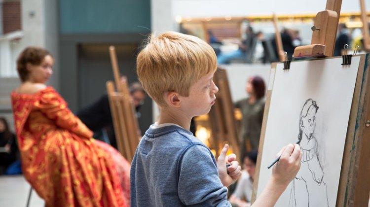 #hierteekenen in het Rijksmuseum: kunst zien!