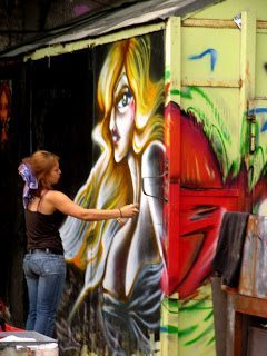 Berlin Street Art, Madonna | allereerste blogpost
