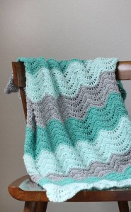Chevron Baby Blanket Crochet Pattern 20 Awesome Crochet Blanket Patterns For Beginners Ideal Me